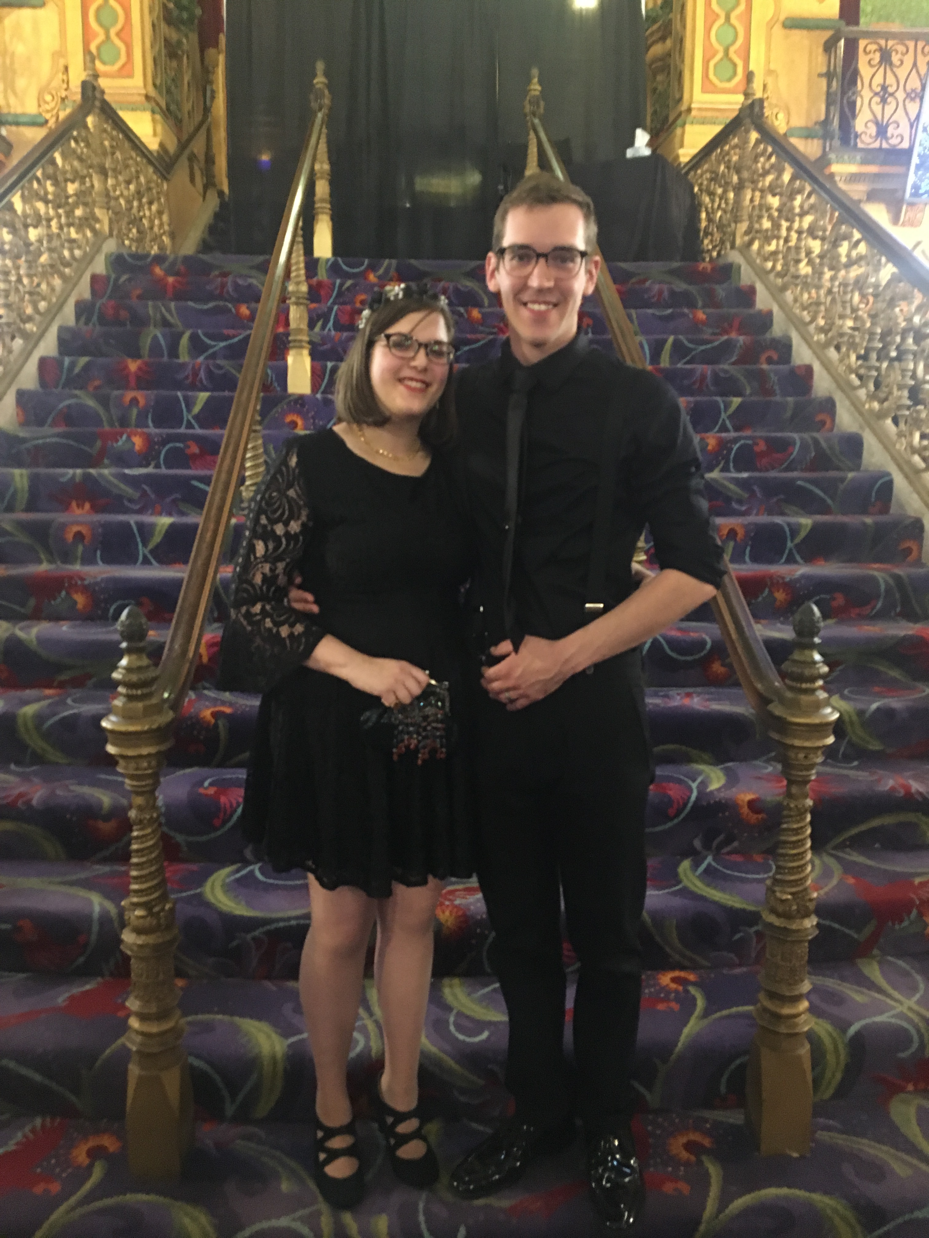 Mr. Will Ozbolt and Mrs. Katrina Ozbolt were married on Halloween in 2018 at the Akron Civic Theatre